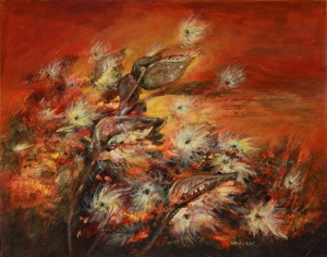 """Whispers in the Wind"" by Kansas artist Lois VanLiew. Artist approved Prints are available at http://www.artprintexpress.com"